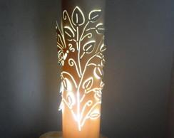 Lumin�ria em PVC Pouso da Borboleta