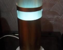 Lumin�ria em PVC Vazada
