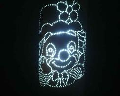 Lumin�ria em PVC Patati