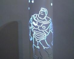 Lumin�ria em PVC Buzzlightyear