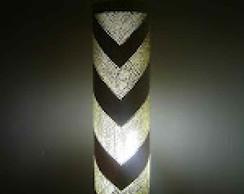 Lumin�ria em PVC Gravata.