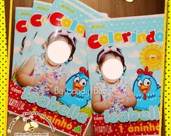 Revista Personalizada Galinha Pintadinha