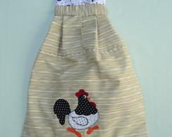 Puxa-saco borda galinhas