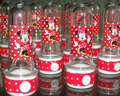 Tubete decorado Minnie Vermelha