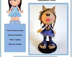 Apostila Virtual Monster High Clawdeen