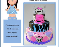 Apostila Virtual Bolo Monster High