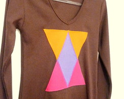 Blusa ML - Triangulos