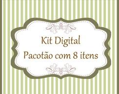 Pacot�o - Kit digital com 8 itens