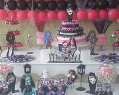 Loca��o Mesa Proven�al Monster HIgh