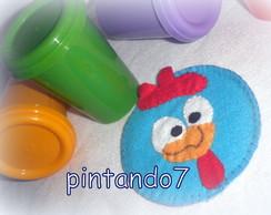 Galinha Pintadinha - Porta copos + COPO