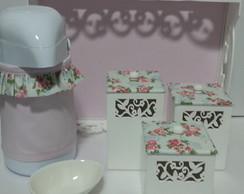 Kit Higiene Potes Floral