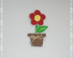 Flor no vaso (�m� de geladeira)
