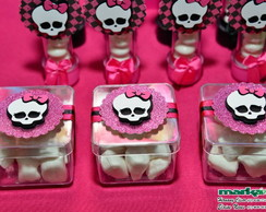 Caixa De Acr�lico Monster High