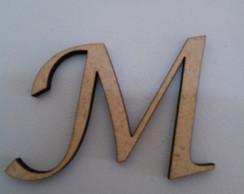 Letra mdf 15cm