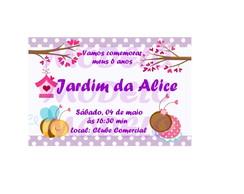 Convite + Tag Lembrancinha Digital