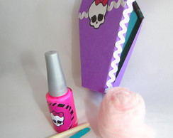 Caix�o kit manicure monster high