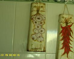 telhas decorativas para cozinha e churra