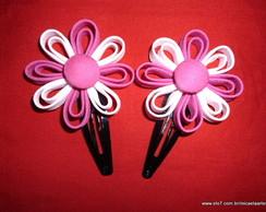 Par De Tic Tac Pink com Rosa Beb�