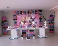 DECORA��O DO TEMA BARBIE POP STAR