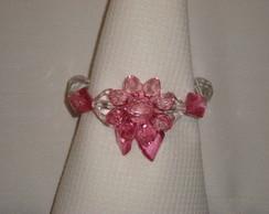 Porta-guardanapo rosa
