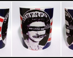 Caneca God Save the Queen - Sex Pistols