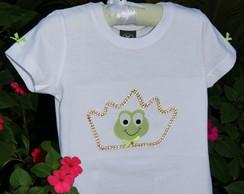 "Camiseta ""A Princesa e o Sapo"""
