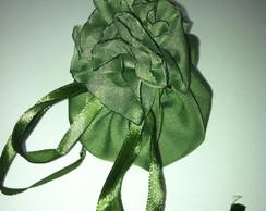 Saquinho multifuncional - verde musgo