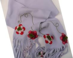 Cachecol Soft Flor
