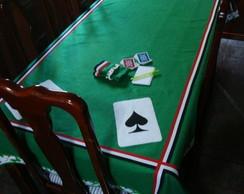 Toalha para jogo de cartas (baralho)