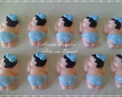 Beb�s de biscuit com �m�s