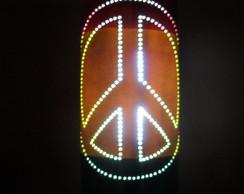 Lumin�ria em PVC Reggae