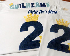 Kit Camisetas Adulto E Infantil