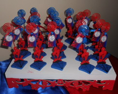 lembrancinhas homem aranha em biscuit