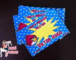 Angry Birds - Cart�o agradecimento