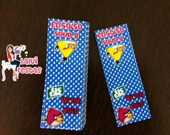 Angry Birds - R�tulo para balinhas
