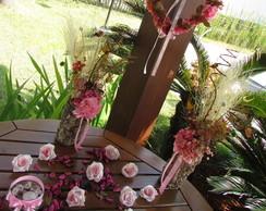 Kit festa guirlanda & Duo flores secas I