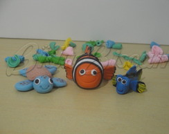 Topo de bolo Procurando Nemo