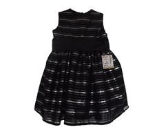 Vestido preto e prata 300AB8, usado comprar usado  Brasil