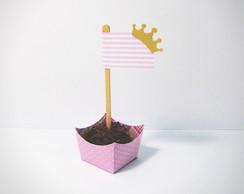 Forminha + Bandeirinha Pequena Princesa
