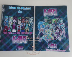 Kit Livrinho De Pintura Monster High