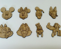 Personagens Disney em MDF