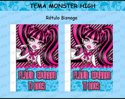 Kit Digital Tema Monster High