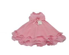 Vestido Infantil Rosa 30116C