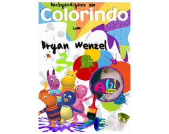 Revista de Colorir - Backyardigans