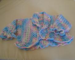 Casaquinho de crochet