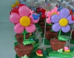 Porta recados Flor