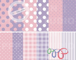 Kit Papel Digital - Baby 2