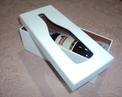 Caixa para vinho individual vazada