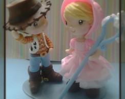 Noivinhos personagens  Woody e Betty