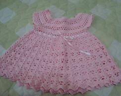 Vestidinhos em crochet